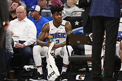 December 6, 2017 - Orlando, FL, USA - Orlando Magic guard Elfrid Payton (2) takes a break at the bench during a timeout -- <br />The Orlando Magic hots the Atlanta Hawks at Amway Center, on Wednesday, December 6, 2017.<br />With 8:00 left on the second quarter, the Magic were ahead, 35-29. (Credit Image: © Ricardo Ramirez Buxeda/TNS via ZUMA Wire)