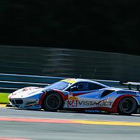 #54, Spirit of Race, Ferrari 488 GTE, LMGTE Am, driven by: Thomas Flohr, Franceseco Castellacci, Giancarlo Fisichella, FIA WEC 6hrs of Spa 2018, 05/05/2018,