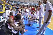 DESCRIZIONE : 5° International Tournament City of Cagliari Olympiacos Piraeus Pireo - Limoges CSP<br /> GIOCATORE : Giannis Sfairopoulos<br /> CATEGORIA : Allenatore Coach Time Out<br /> SQUADRA : Olympiacos Piraeus Pireo<br /> EVENTO : 5° International Tournament City of Cagliari<br /> GARA : Olympiacos Piraeus Pireo - Limoges CSP Torneo Città di Cagliari<br /> DATA : 19/09/2015<br /> SPORT : Pallacanestro <br /> AUTORE : Agenzia Ciamillo-Castoria/L.Canu