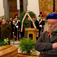 Funerale del partigiano Massimo Rendina