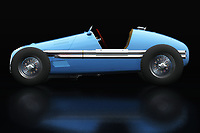 Few people know the Gordini T16 Grand prix from 1952 and that is a plus to use it as an eye-catcher. Nobody will see the Gordini T16 Grand prix from 1952 as a branded product but as something playful in your interior;<br />
