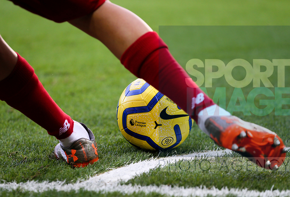 Trent Alexander-Arnold of Liverpool takes a corner kick during the Premier League match at Anfield, Liverpool. Picture date: 1st February 2020. Picture credit should read: James Wilson/Sportimage