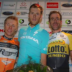 28-08-2015: Wielrennen: Profronde: Almelo<br /> De 33e profronde van Almelo. Lars Boom (Astana) was in Almelo de sterkste voor Maurits Lammertink (Roompot) en Bram Tankink (Lotto Jumbo)