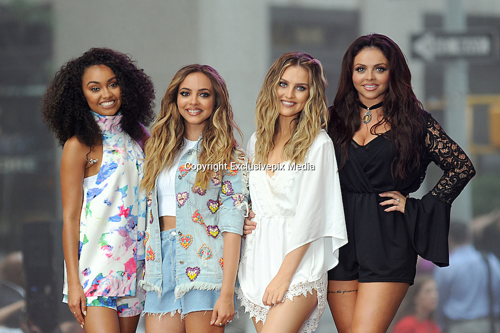 New York, NY, USA - <br /> Leigh-Anne Pinnock, Jade Thirlwall, Perrie Edwards, Jesy Nelson of Little Mix performing on NBC TODAY on August 19, 2015<br /> ©Exclusivepix Media