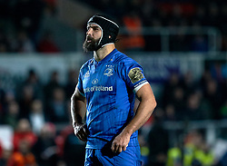 Scott Fardy of Leinster<br /> <br /> Photographer Simon King/Replay Images<br /> <br /> Guinness PRO14 Round 10 - Dragons v Leinster - Saturday 1st December 2018 - Rodney Parade - Newport<br /> <br /> World Copyright © Replay Images . All rights reserved. info@replayimages.co.uk - http://replayimages.co.uk