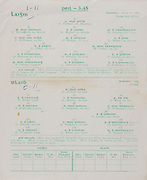 Interprovincial Railway Cup Football Cup Final,  17.03.1962, 03.17.1962, 17th March 1962, referee S O Mairtin , Leinster 1-11, Ulster 0-11, Football Team Leinster, A Phillips, P McCormack, G Hughes, M Carolan, C McNamee, P Holden, C Wrenn, D Foley, M Carley, S Brereton, M Whelan, T Greene, P Greaty,  J Timmons, K Heffernan, Football Team Ulster, E McKay, G Kelly, L Murphy, P Rice, B Mone, D McCartan, S McDonnell, E Larkin, S O'Neill, J McCartan, P Doherty, S O'Connell, J Whan, B Morgan, .Interprovincial Railway Cup Hurling Cup Final,  17.03.1962, 03.17.1962, 17th March 1962, referee C O Dublainn, Leinster 1-11, Munster 1-09,.