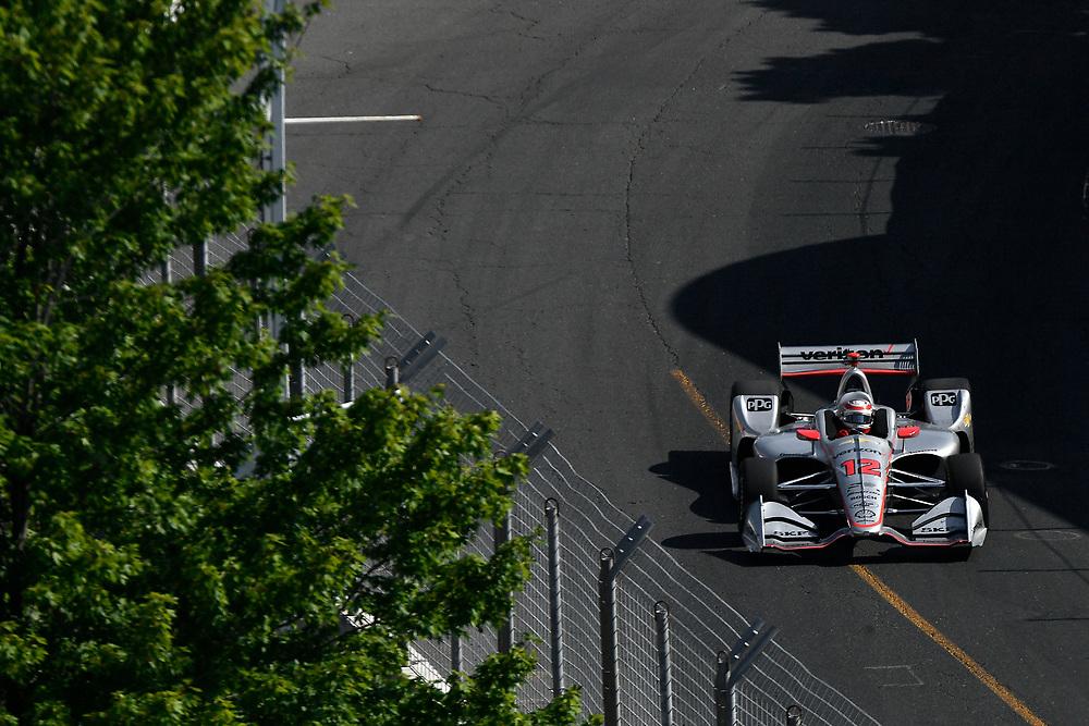 Will Power, Team Penske Chevrolet<br /> Sunday 15 July 2018<br /> Honda Indy Toronto<br /> Verizon IndyCar Series<br /> Streets of Toronto ON CAN<br /> World Copyright: Scott R LePage