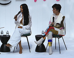 June 19, 2018 - Los Angeles, California, USA - 6/18/18.Kim Kardashian and Kris Jenner at the Business Of Fashion Presents The Inaugural BoF West Summit held at the Westfield Century City in Los Angeles, CA. (Credit Image: © Starmax/Newscom via ZUMA Press)