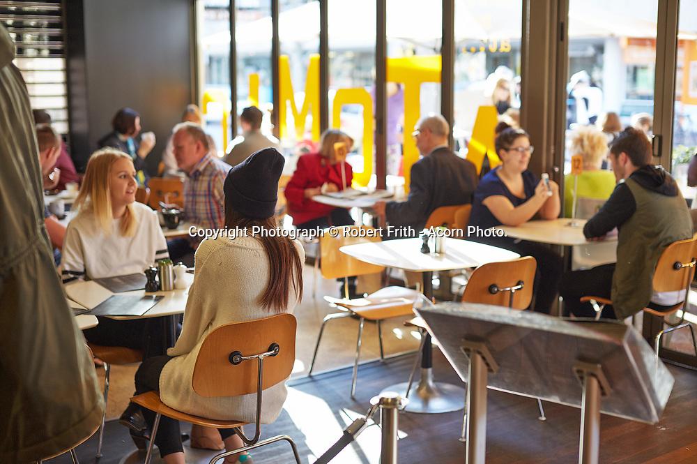 Café in the Mends St precinct