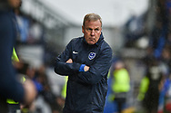 Portsmouth Manager, Kenny Jackett during the EFL Sky Bet League 1 match between Portsmouth and Wycombe Wanderers at Fratton Park, Portsmouth, England on 22 September 2018.
