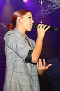 Auftritt von Vanessa Mai anlässlich der «Schlagertage Sedrun 2017». Sedrun, 09. September 2017.