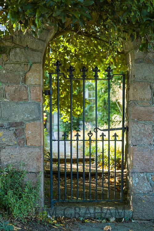 Gateway of elegant home in Jersey, Channel Isles