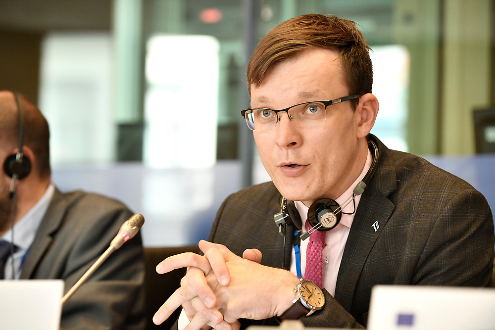 12 May 2017, 123rd Plenary Session of the European Committee of the Regions <br /> Belgium - Brussels - May 2017 <br /> <br /> Rait Pihelgas <br /> © European Union / Fred Guerdin