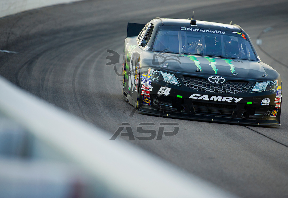 NEWTON, IA - July 03, 2012: Kurt Busch (54) during the final practice for the U.S. Cellular 250 race at Iowa Speedway in Newton, IA.