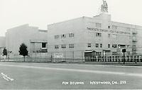 1949 20th Century Fox Studios in West Los Angeles