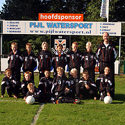 SV Loosdrecht D3 pupillen met nieuwe sponsorkleding Pijl Watersport
