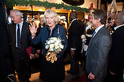THE DUCHESS OF CORNWALL, Duchess Of Cornwall Turns On The Christmas Lights At Burlington Arcade. Piccadilly. LONDON, 19 November 2009