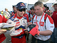20090405: OURIQUE, ALGARVE, PORTUGAL - SEBASTIEN LOEB (Citroen) wins WCR Portugal Rally 2009. <br /> PHOTO: CITYFILES