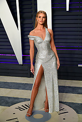 Rosie Huntington-Whiteley attending the Vanity Fair Oscar Party held at the Wallis Annenberg Center for the Performing Arts in Beverly Hills, Los Angeles, California, USA.
