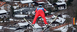 30.01.2016, Normal Hill Indiviual, Oberstdorf, GER, FIS Weltcup Ski Sprung Ladis, Bewerb, im Bild Maren Lundby (NOR) // Maren Lundby of Norway during her Competition Jump of FIS Ski Jumping World Cup Ladis at the Normal Hill Indiviual, Oberstdorf, Germany on 2016/01/30. EXPA Pictures © 2016, PhotoCredit: EXPA/ Peter Rinderer