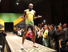 Usain Bolt unveils Jamaican Olympic team kit