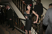 Amy Winehouse, The South Bank Show Awards, Savoy Hotel. London. 23 January 2007.  -DO NOT ARCHIVE-© Copyright Photograph by Dafydd Jones. 248 Clapham Rd. London SW9 0PZ. Tel 0207 820 0771. www.dafjones.com.