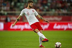 September 11, 2018 - Wroclaw, Poland - Mateusz Klich of Poland in action during the International Friendly match between Poland and Republic of Ireland at Wroclaw Stadium in Wroclaw, Poland on September 11, 2018  (Credit Image: © Andrew Surma/NurPhoto/ZUMA Press)
