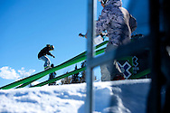 Sage Kotsenburg during Snowboard Slopestyle Eliminations at 2014 X Games Aspen at Buttermilk Mountain in Aspen, CO. ©Brett Wilhelm/ESPN