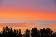 Clouds at sunset<br /> Pasqua<br /> Saskatchewan<br /> Canada
