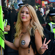 The informous courageous naked rebellion Laura Hope attended Women and FINT Rebellion Action
