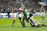 Reading, GREAT BRITAIN, Mike CATT, during the third round Heineken Cup game, London Irish vs Ulster Rugby, at the Madejski Stadium, Reading ENGLAND, Sat., <br /> 09.12.2006. [Photo Peter Spurrier/Intersport Images]