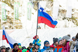 Slovenian kid with flag during Ski Flying Hill Individual Competition at Day 2 of FIS Ski Jumping World Cup Final 2018, on March 23, 2018 in Planica, Ratece, Slovenia. Photo by Ziga Zupan / Sportida