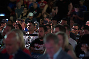 LAS VEGAS, NV - JULY 10:  Fans look on during the UFC Hall of Fame Induction Ceremony at the Las Vegas Convention Center on July 10, 2016 in Las Vegas, Nevada. (Photo by Cooper Neill/Zuffa LLC/Zuffa LLC via Getty Images) *** Local Caption ***