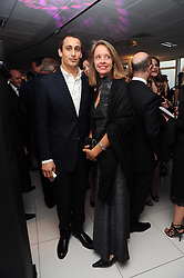ALEX DELLAL and SABRINA GUINNESS at The Reuben Foundation and Virgin Unite Haiti Fundraising dinner held at Altitude 360 in Millbank Tower, London on 26th May 2010.
