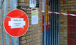"South Africa - Cape Town - 22 June 2020 -  – Entrance to Bellrail driving testing facility in Bellville. The City of Cape Town's Traffic Service on Sunday shut down nine of the City's Driving Licence Testing Centres until further notice due to the threat of the further spread of the coronavirus. The affected facilities were Parow, Brackenfell, Hillstar, Bellrail in Bellville, Gallows Hill, Fish Hoek, Kuilsriver, Somerset West and Gordon's Bay.. Picture"" Brendan Magaar/African News Agency(ANA)"