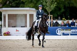 Hagren Merita, FIN, De Angelo<br /> World Championship Young Horses Verden 2021<br /> © Hippo Foto - Dirk Caremans<br />  28/08/2021