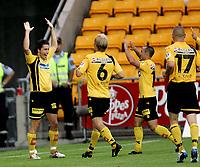 Fotball   19 juli  2006  - 4.runde NM menn<br /> Åråsen Stadion<br /> Foto: Dagfinn Limoseth, Digitalsport <br /> Lillestrøm SK  v  FC  Lyn Oslo<br /> <br /> Robert Koren scoret rett før pause