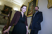 NO FEE PICTURES <br /> 30/12/14 Lisa Hannigan and Paul Noonan, BellX1 at the NYF Spoken Word Festival at the City Assembly House in Dublin. Picture:Arthur Carron