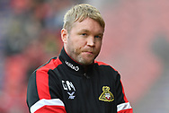 Doncaster Rovers manager Grant McCann during the EFL Sky Bet League 1 match between Doncaster Rovers and Portsmouth at the Keepmoat Stadium, Doncaster, England on 25 August 2018.Photo by Ian Lyall.