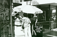 1987 Star Line Tours on Hollywood Blvd.