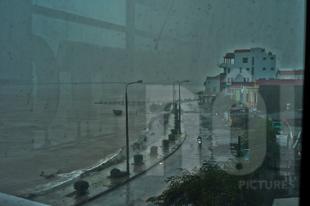 Heavy rains and flooding along the central coastal provinces of Vietnam from the category 1 tropical storm, Typhoon Wutip, Southeast Asia.