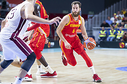 September 17, 2018 - Madrid, Spain - Sergio Rodriguez of Spain during the FIBA Basketball World Cup Qualifier match Spain against Latvia at Wizink Center in Madrid, Spain. September 17, 2018. (Credit Image: © Coolmedia/NurPhoto/ZUMA Press)