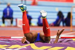 March 2, 2018 - Birmingham, Gangwon, United Kingdom - Yorgelis Rodríguez ofCuba at high jump Pentathlon at World indoor Athletics Championship 2018, Birmingham, England on March 2, 2018. (Credit Image: © Ulrik Pedersen/NurPhoto via ZUMA Press)