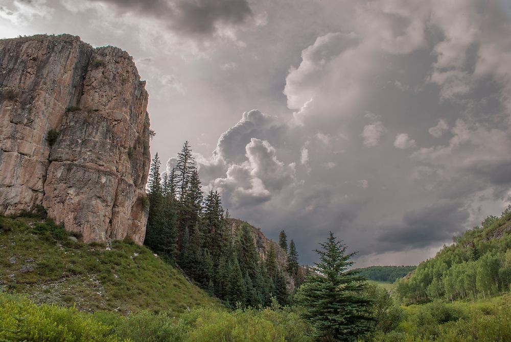 Photograph of a Colorado landscape