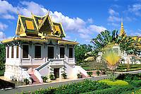 Cambodge, Phnom Penh, Palais royal // Cambodia, Phnom Penh, King Palace.
