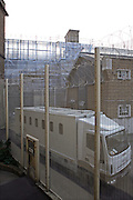 A high security prison van for transportiing inmates to and from the prison. HMP Wandsworth, London, United Kingdom