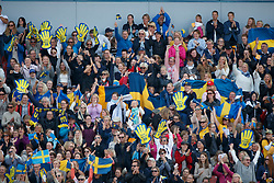 Swedish supporters<br /> FEI European Jumping Championships - Goteborg 2017 <br /> © Hippo Foto - Dirk Caremans<br /> 27/08/2017,