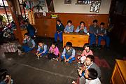Tibetan students in a Children's Village school India
