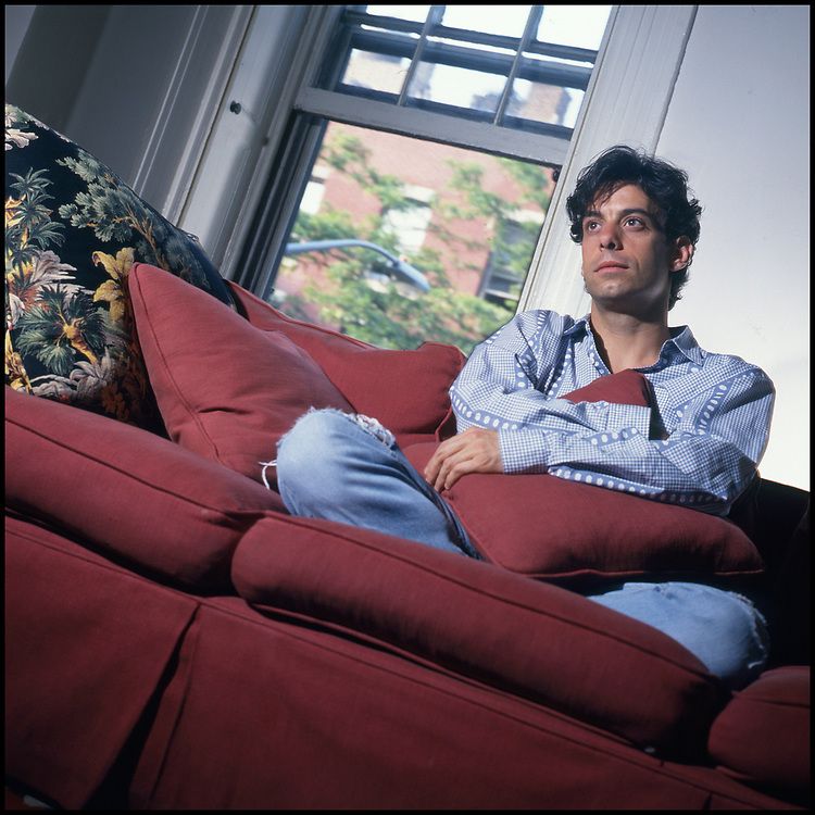 JJoseph Mantello photographed at his home in New York City for The Advocate in September 1994.