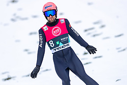 07.03.2020, Holmenkollen, Oslo, NOR, FIS Weltcup Skisprung, Raw Air, Oslo, Herren, Teambewerb, im Bild Pius Paschke (GER) // Pius Paschke of Germany during the men's team competition for the Raw Air Series of FIS Ski Jumping World Cup at the Holmenkollen in Oslo, Norway on 2020/03/07. EXPA Pictures © 2020, PhotoCredit: EXPA/ JFK